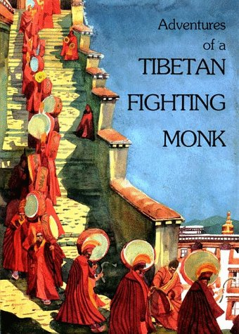 Adventures of a Tibetan Fighting Monk  2nd edition cover