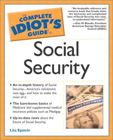 Complete Idiot's Guide to Social Security   2002 edition cover