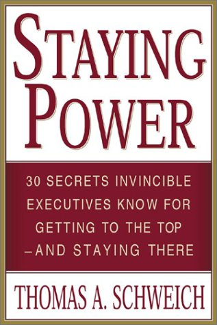 Staying Power   2003 9780071395175 Front Cover