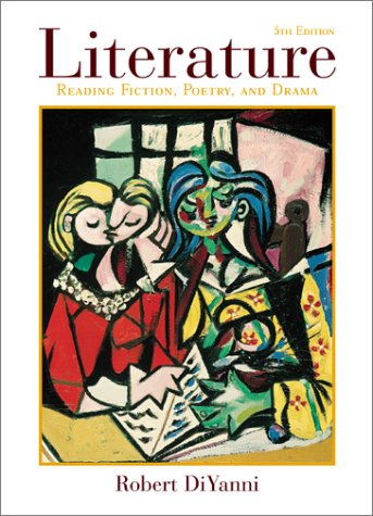 Literature Reading Fiction, Poetry, and Drama 5th 2002 edition cover