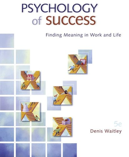 Psychology of Success  5th 2010 edition cover
