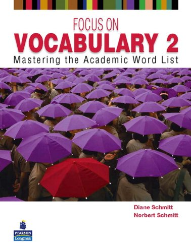 Focus on Vocabulary 2 Mastering the Academic Word List 2nd 2011 edition cover