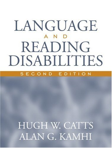 Language and Reading Disabilities  2nd 2005 (Revised) edition cover