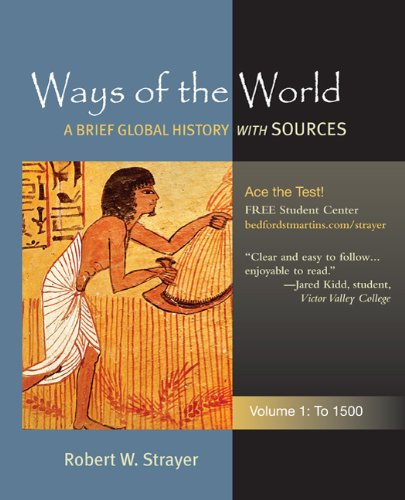 Ways of the World - To 1500 A Global History with Sources N/A edition cover