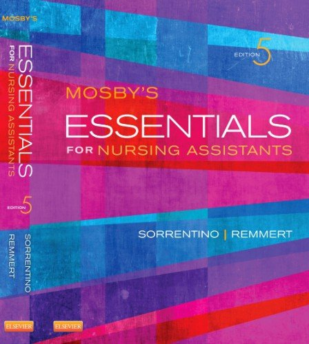 Mosby's Essentials for Nursing Assistants  5th 2014 edition cover