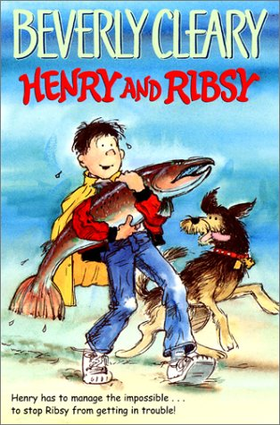 Henry and Ribsy  50th 1982 (Anniversary) edition cover