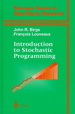 Introduction to Stochastic Programming   2000 9780387982175 Front Cover