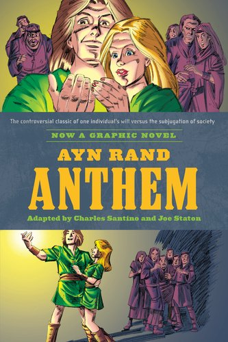 Ayn Rand's Anthem The Graphic Novel  2011 edition cover