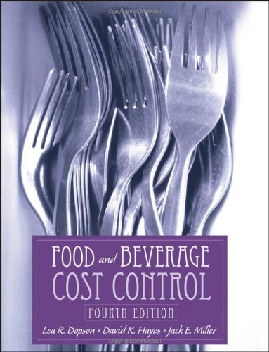 Food and Beverage Cost Control  4th 2008 (Revised) 9780471694175 Front Cover