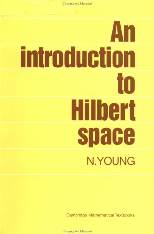 Introduction to Hilbert Space   1988 9780521337175 Front Cover