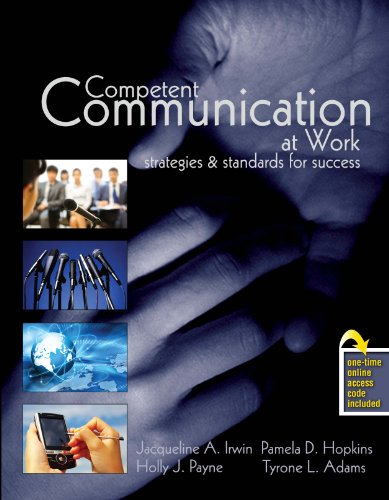Competent Communication at Work Strategies and Standards for Success Revised edition cover