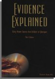 EVIDENCE EXPLAINED 3rd edition cover