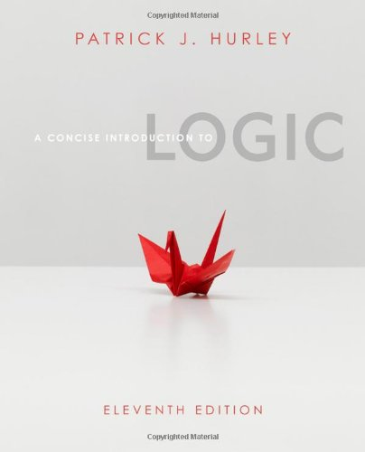 Concise Introduction to Logic  11th 2012 9780840034175 Front Cover
