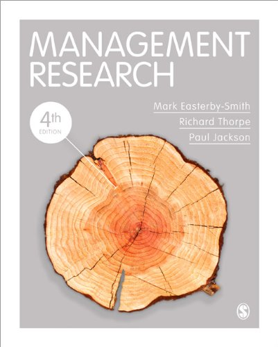Management Research  4th 2012 edition cover