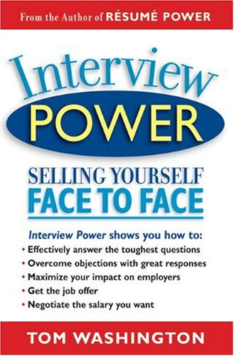 Interview Power Selling Yourself Face to Face 3rd 2004 edition cover