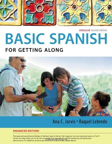 Spanish for Getting Along:   2013 edition cover