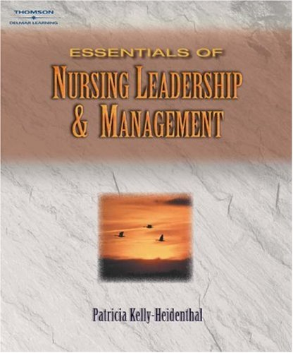 Essentials of Nursing Leadership and Management   2004 9781401830175 Front Cover