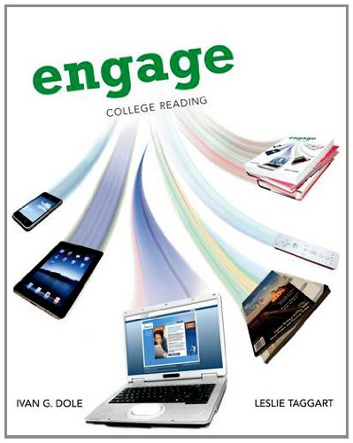 Engage College Reading  2013 edition cover