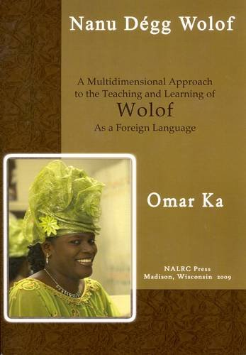 Nanu D�gg Wolof Let's Speak Wolof: A First-Year Textbook  2009 edition cover