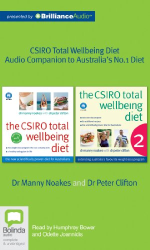 The Csiro Total Wellbeing Diet: Audio Companion to Australia's #1 Diet Book  2013 edition cover