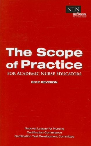 Scope of Practice:   2012 edition cover