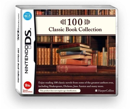 100 Classic Book Collection /NDS Nintendo DS artwork