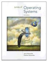 Survey of Operating Systems  3rd 2012 edition cover