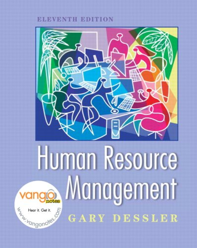 Human Resource Management  11th 2008 edition cover