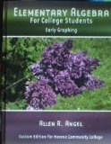 Elementary Algebra for College Students : Early Graphing 3rd 2007 9780136134176 Front Cover