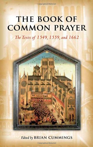 Book of Common Prayer The Texts of 1549, 1559, And 1662  2011 edition cover