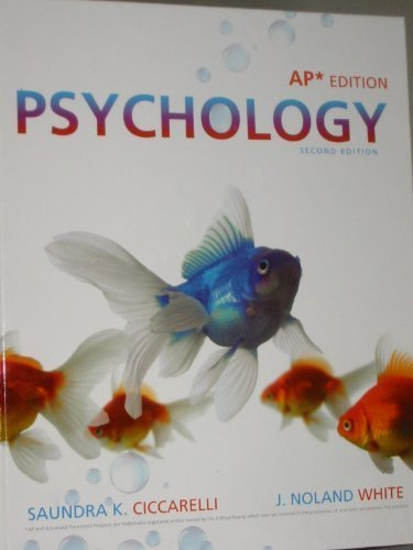 Psychology  2nd 2011 9780205786176 Front Cover
