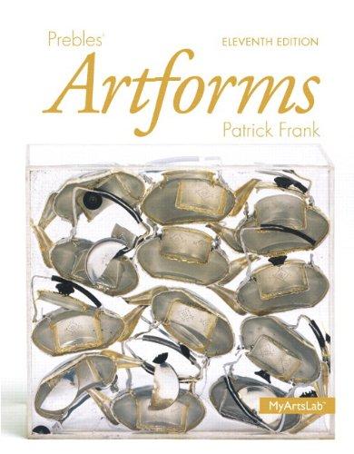 Prebles' Artforms Books a la Carte Edition, Prebles' Artforms  11th 2014 edition cover