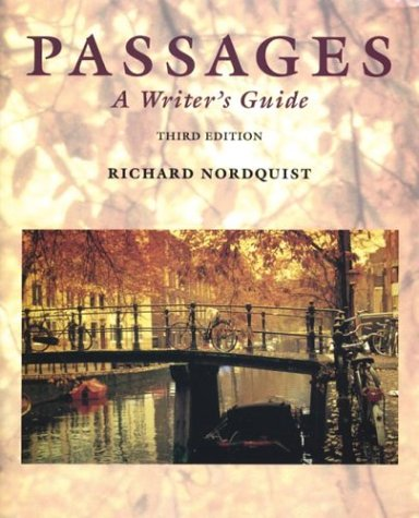 Passages A Writer's Guide 3rd 1995 edition cover