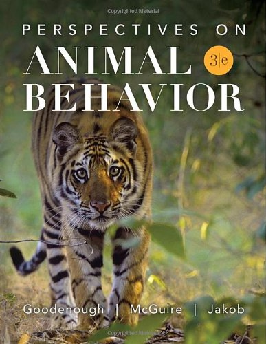 Perspectives on Animal Behavior  3rd 2010 edition cover