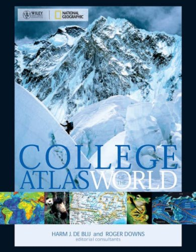 Wiley/National Geographic College Atlas of the World   2008 edition cover