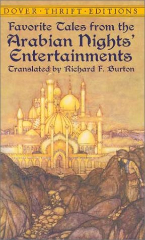 Favorite Tales from the Arabian Nights' Entertainments   2001 9780486419176 Front Cover
