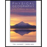 Physical Geography: California Ed (W/CD)  N/A edition cover
