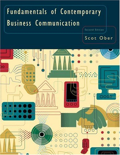 Fundamentals of Contemporary Business Communication  2nd 2007 edition cover