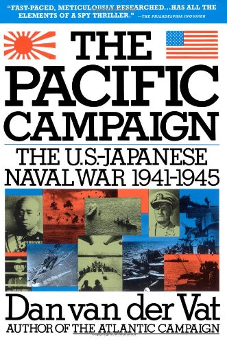 Pacific Campaign The U. S. -Japanese Naval War, 1941-1945  1992 edition cover