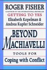 Beyond Machiavelli Tools for Coping with Conflict  1994 9780674069176 Front Cover