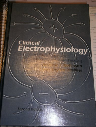 Clinical Electrophysiology  2nd 1995 (Revised) 9780683078176 Front Cover