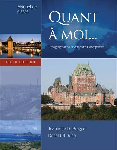 Quant � Moi...  5th 2013 edition cover
