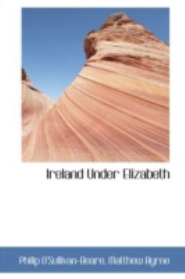 Ireland under Elizabeth  N/A edition cover