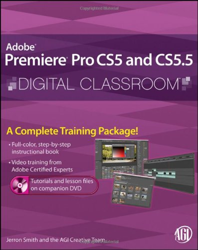Premiere Pro CS5 and CS5. 5   2011 edition cover