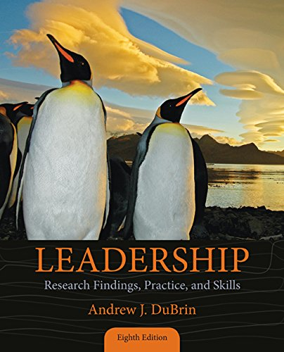 Bundle: Leadership: Research Findings, Practice, and Skills, 8th + LMS Integrated for MindTap Management, 1 Term (6 Months) Printed Access Card  8th 2016 9781305618176 Front Cover