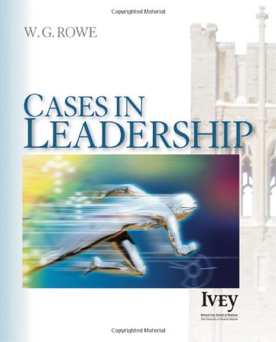 Cases in Leadership   2007 edition cover