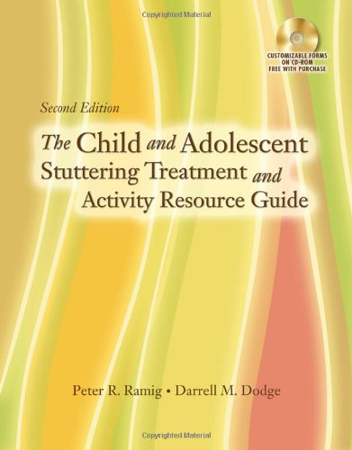 Child and Adolescent Stuttering Treatment and Activity Resource Guide  2nd 2010 edition cover