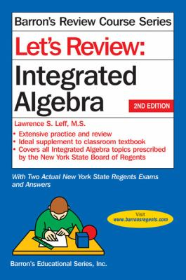 Let's Review Integrated Algebra  2nd 2012 (Revised) edition cover