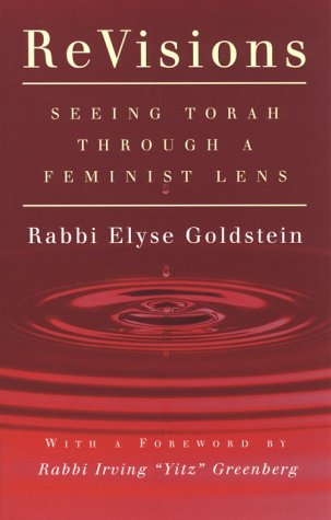 ReVisions Seeing Torah Through a Feminist Lens  2001 edition cover