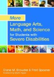 More Language Arts, Math, and Science for Students with Severe Disabilities   2014 edition cover
